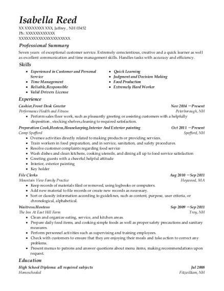 self employed interior and exterior painting resume sample gary