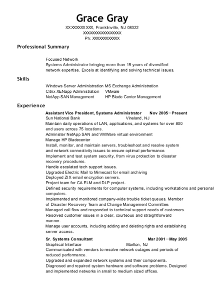 lan administrator resume administrator resume lan administrator