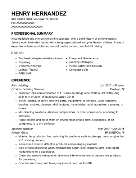 people also search for customize resume view resume auto detailing - Auto Detailer Resume