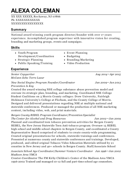best senior copywriter resumes resumehelp