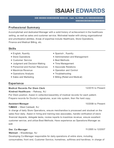 best patient access manager resumes resumehelp