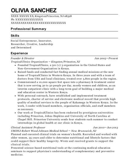 cody laboratories inc principal scientist resume sample