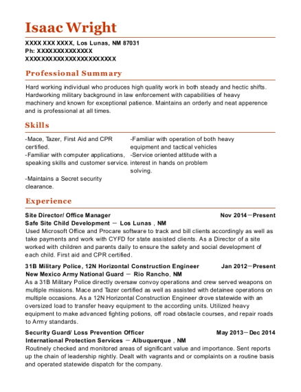 12n horizontal construction engineer electrical maintenance customize resume view resume