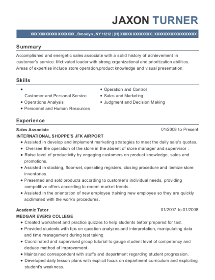the home depot sales associate resume sample