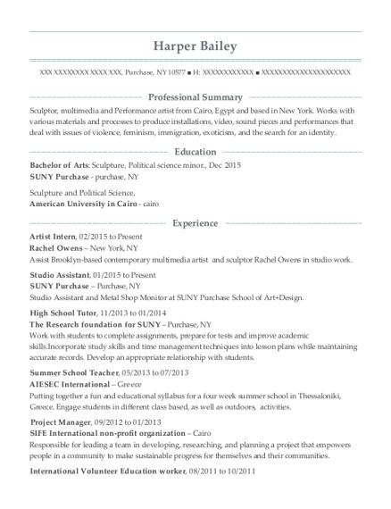 walt disney world college program seater resume sample