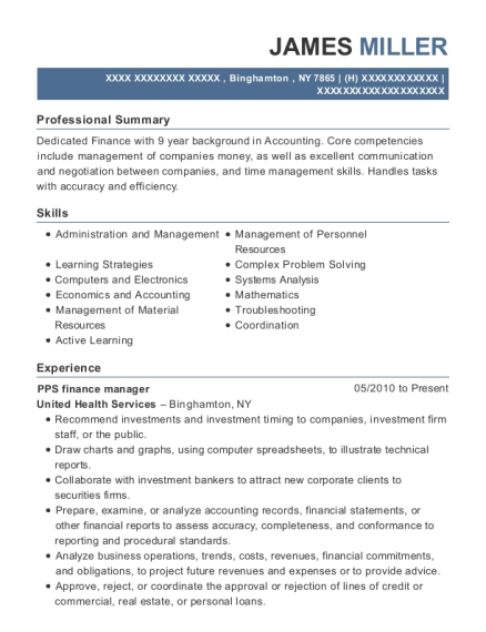 Best General Accounting Manager Resumes | ResumeHelp