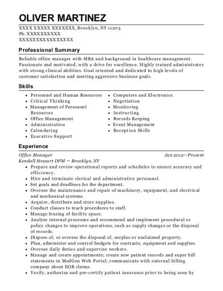 Best Clerical Associate Ii Resumes | ResumeHelp