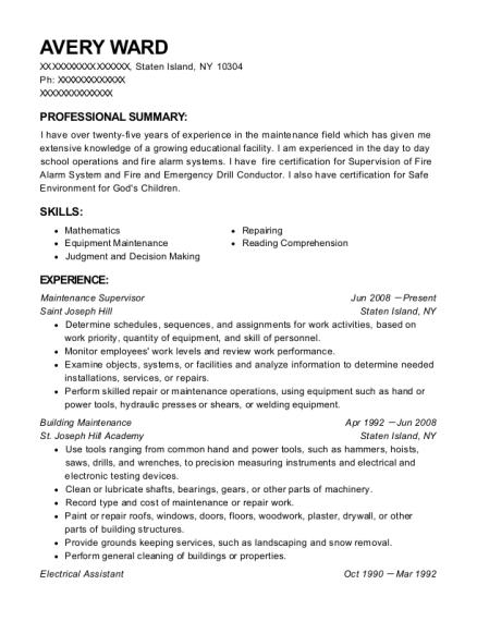best electrical assistant resumes resumehelp