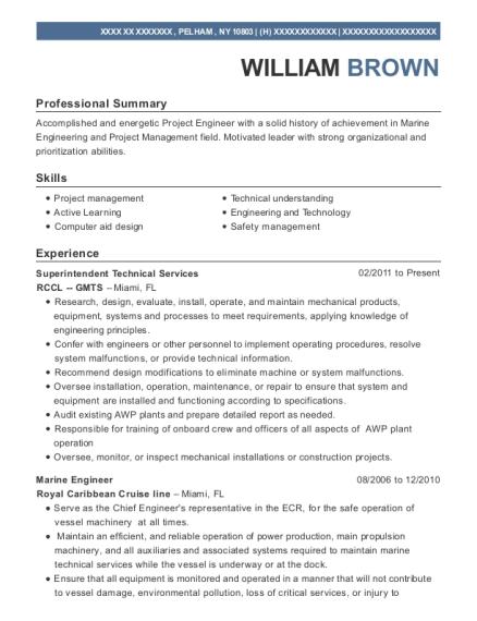 marine engineer resume - April.mydearest.co