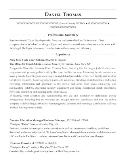 Best Clinique Consultant Resumes | ResumeHelp
