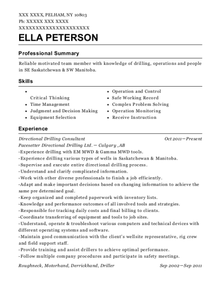 Calgary Co Op Gas Bar Pump Attendant Resume Sample - Jenners ...