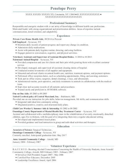 Best Child Care Worker I Resumes | ResumeHelp