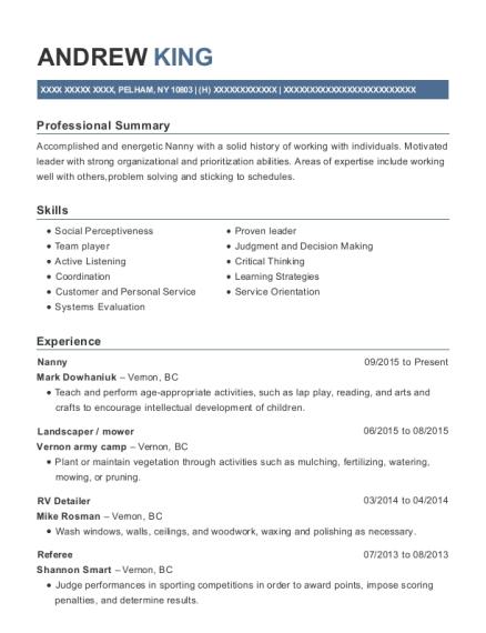 best rv detailer resumes resumehelp