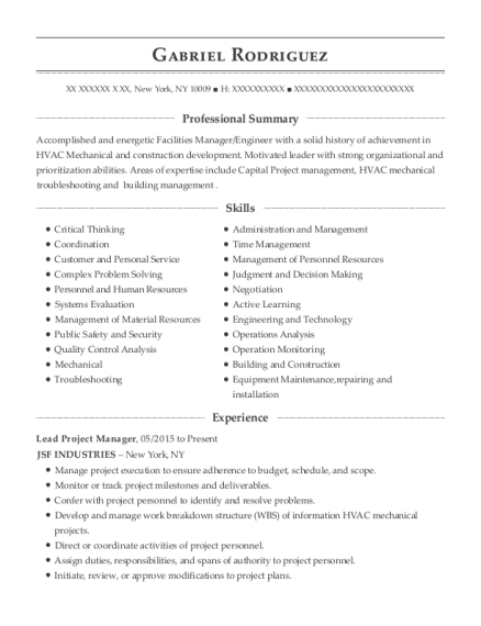 Lead Project Manager , IT Trainer. Customize Resume · View Resume