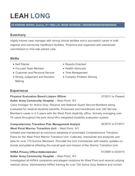 best hipaa privacy officer resumes resumehelp