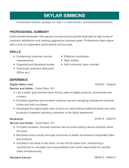 Best Digital Sales Lead Resumes | ResumeHelp