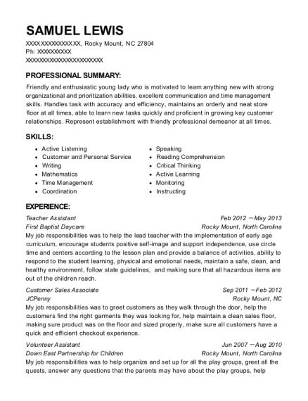 walgreens customer sales associate resume sample