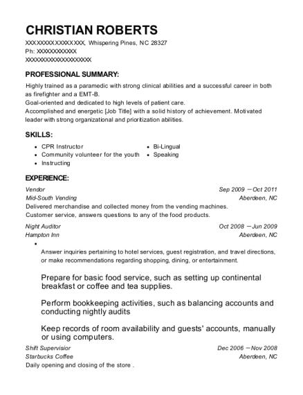 Steelmart Vendor Resume Sample - Mcallen Texas   ResumeHelp