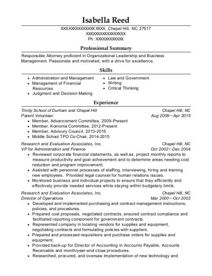 Best Parent Volunteer Resumes Resumehelp