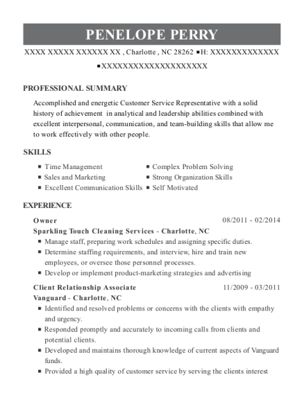Best administrative assistant resumes in charlotte north carolina view resume thecheapjerseys Images