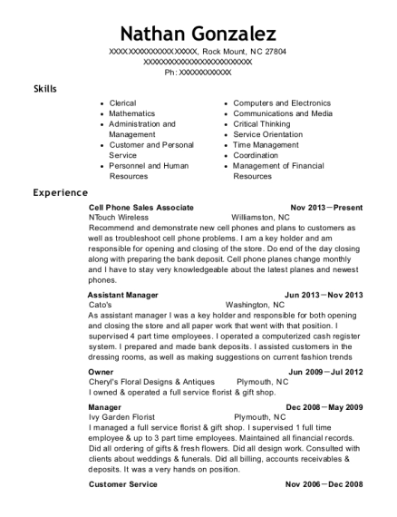 Nursing Staff Coordinator , Cell Phones Sales. Customize Resume · View  Resume