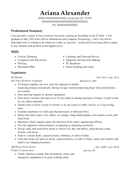 Crafts Person , Carpet Cleaning Technician. Customize Resume · View Resume