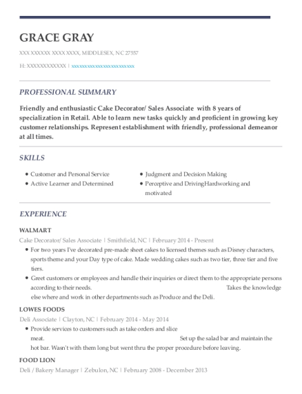 ... Bakery Manager. Customize Resume · View Resume