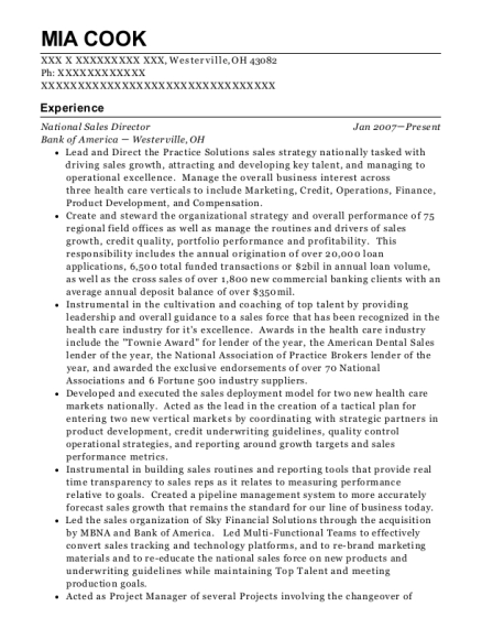 td canada trust financial advisor resume sample