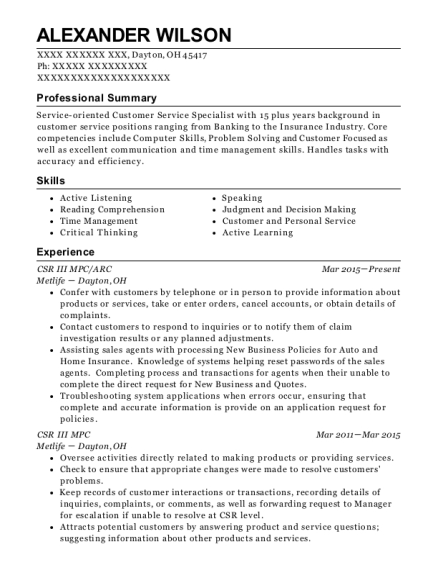 ... Retention Specialist. Customize Resume · View Resume