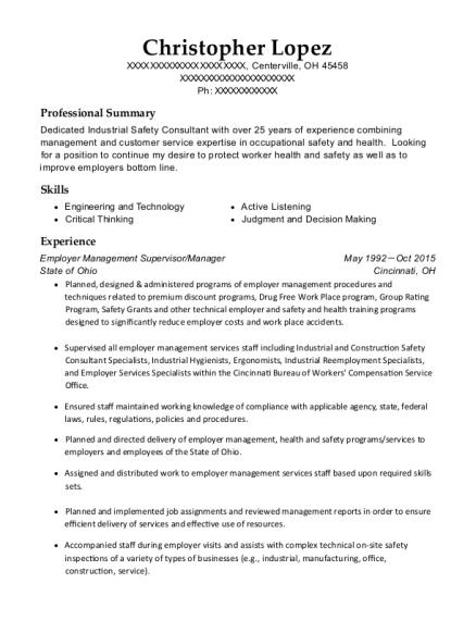 best bioenvironmental engineering technician resumes resumehelp