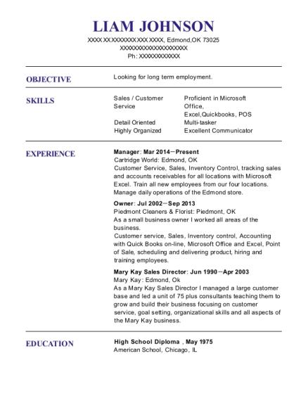 Mary Kay Resume Choppix