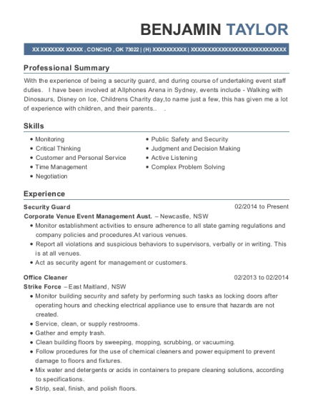 Best Stand In Manager Resumes   ResumeHelp