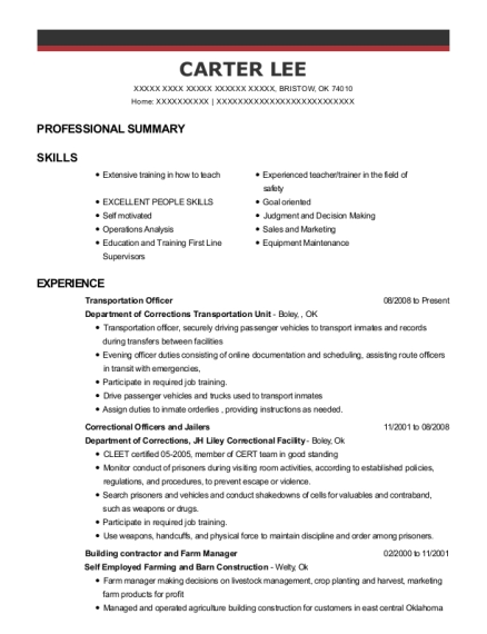 carter lee farm manager resume - Dairy Farm Manager Sample Resume