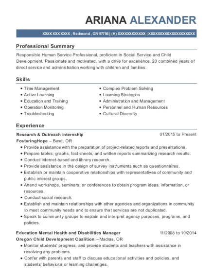 Case Manager , Family Service Worker. Customize Resume · View Resume