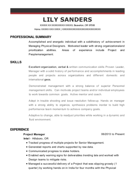 Best Physical Design Manager Resumes | ResumeHelp