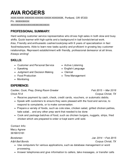 sample greeter resume greeter resume resume samples across all - Sample Greeter Resume