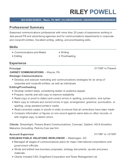 best copy editor resumes resumehelp