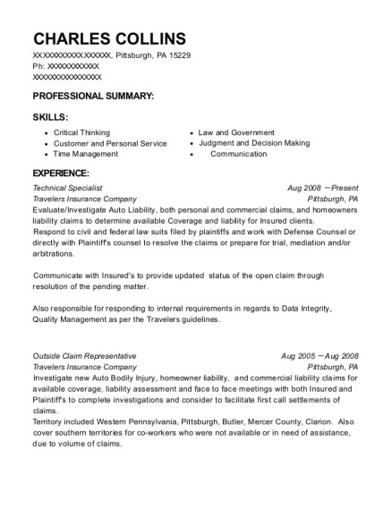 At&t Communication Technical Specialist Resume Sample - Saginaw ...