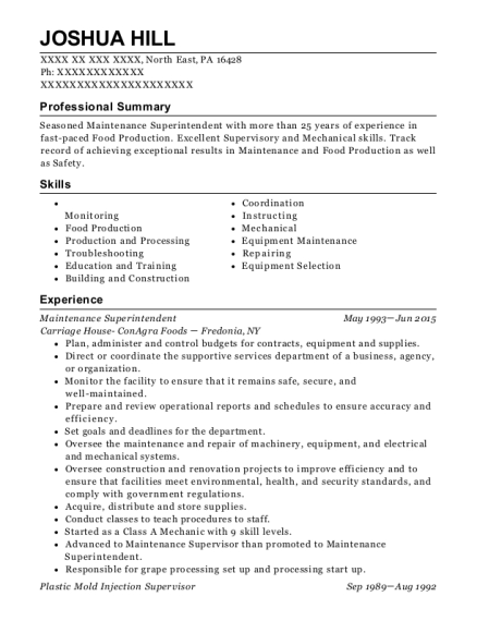 Best Orchard Manager Resumes | ResumeHelp