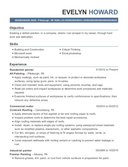 Ceramic Tile Installer , Framer. Customize Resume · View Resume