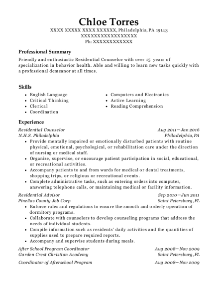 best after school program coordinator resumes resumehelp - Program Coordinator Resume
