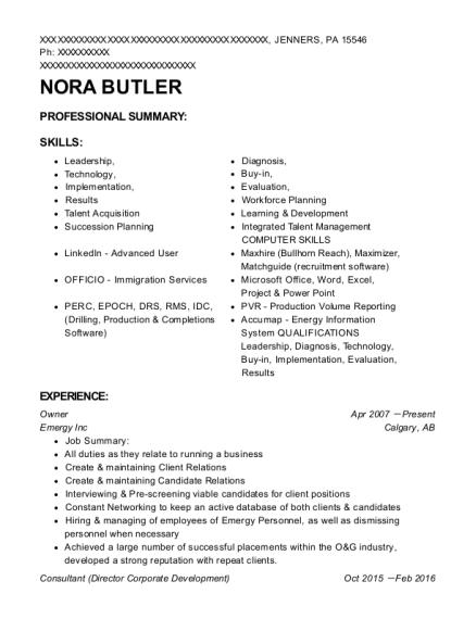 Best Drilling Technician Resumes | ResumeHelp