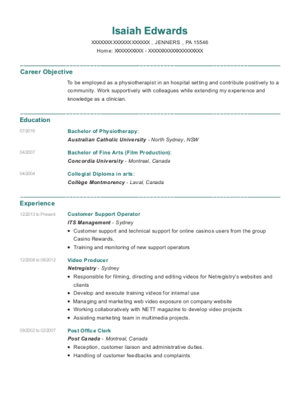 Posting Resume Online While Employed Gallery - resume format ...