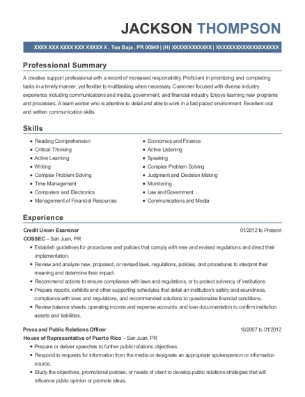 Best Press And Public Relations Officer Resumes ResumeHelp