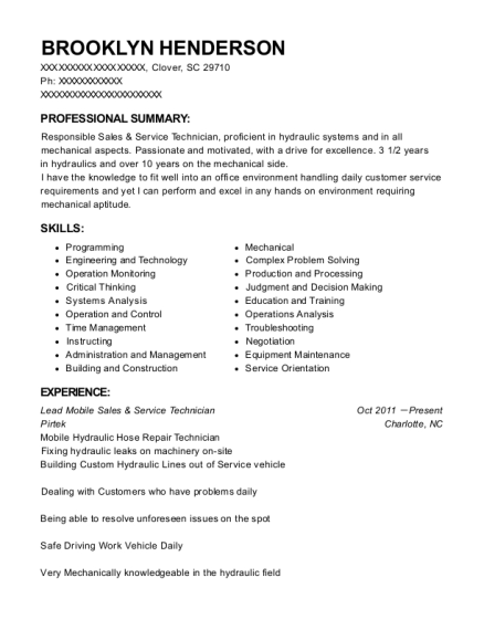 High Quality Awesome View Resume. Lead Mobile Sales U0026 Service Technician