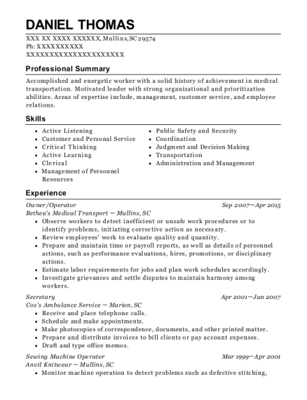 Sewing Machine Operator , Cashier. Customize Resume · View Resume
