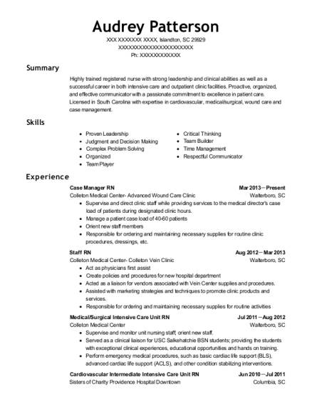view resume - Resume For Nursing Technician