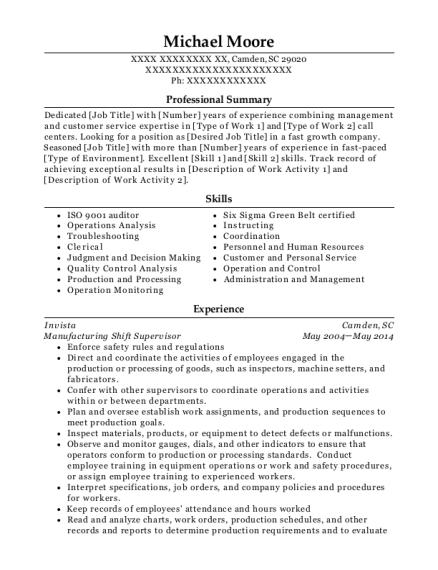 desired job title