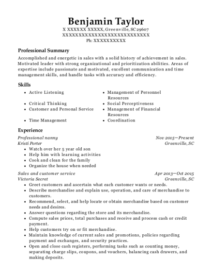 Best Special Needs Caregiver Resumes ResumeHelp