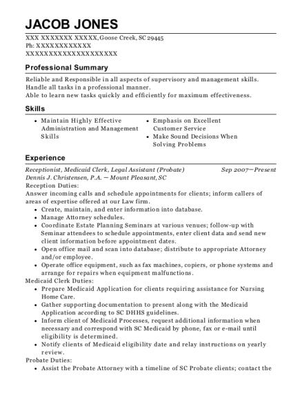 Best Scheduling Supervisor Resumes | ResumeHelp